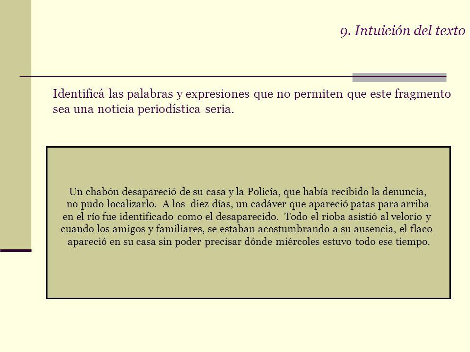 9. Intuición del texto Importancia de factores metacognitivos para la comprensión lectora ¿Qué es la metacognición? Reflexión sobre los procesos cogni