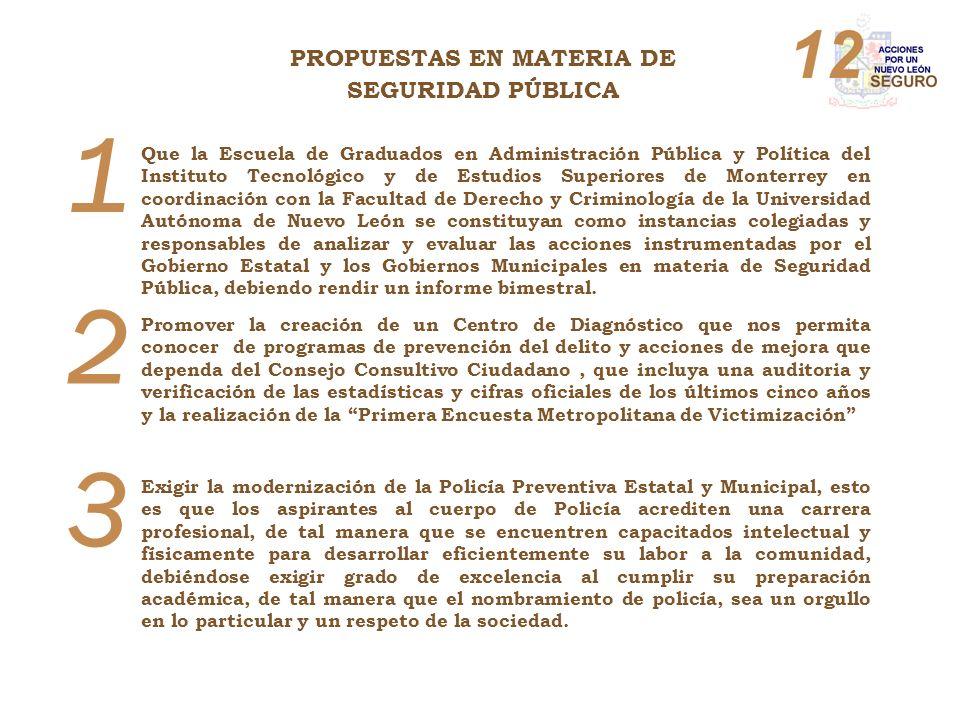 1 Que la Escuela de Graduados en Administración Pública y Política del Instituto Tecnológico y de Estudios Superiores de Monterrey en coordinación con