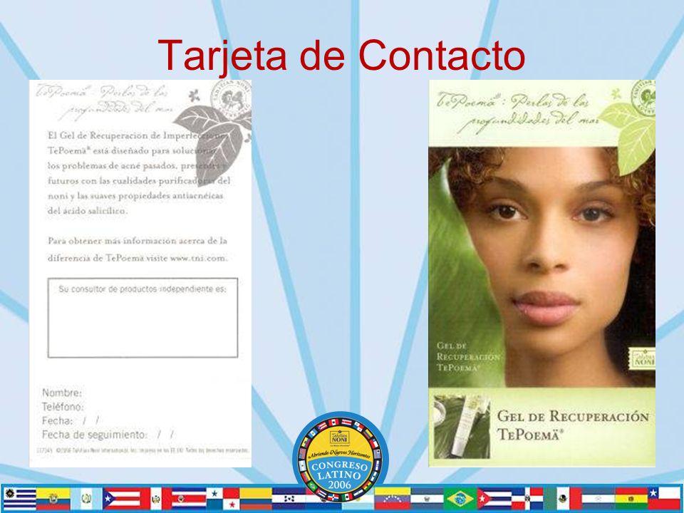 Tarjeta de Contacto