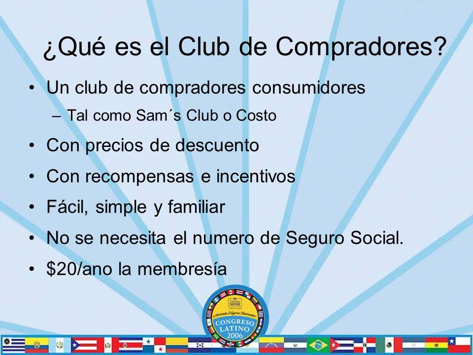 ¿Qué es el Club de Compradores.