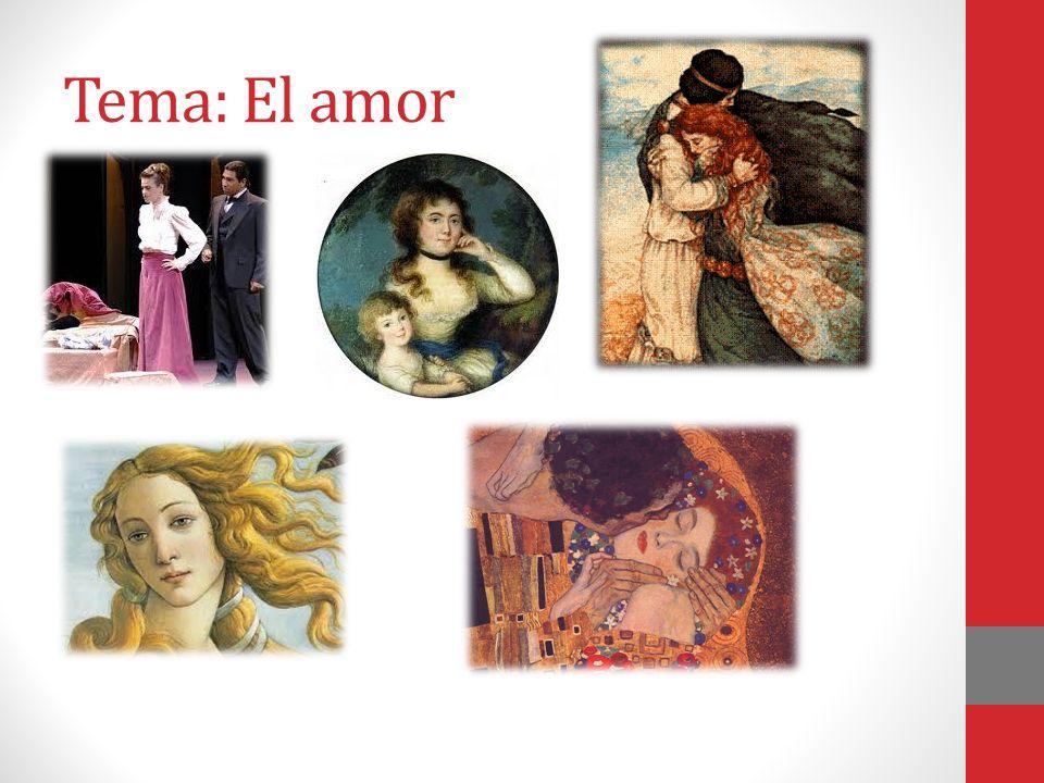 Tema: El amor