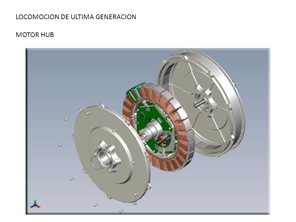 LOCOMOCION DE ULTIMA GENERACION MOTOR HUB