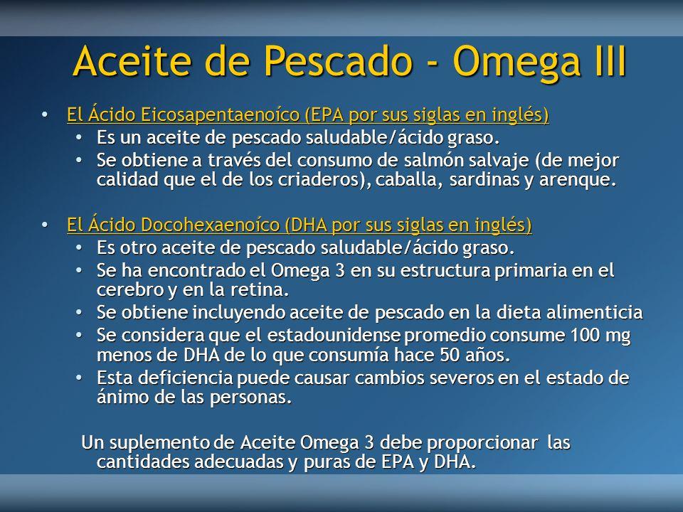 El Ácido Eicosapentaenoíco (EPA por sus siglas en inglés) El Ácido Eicosapentaenoíco (EPA por sus siglas en inglés) Es un aceite de pescado saludable/
