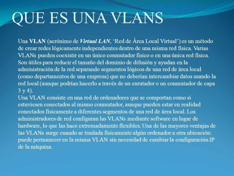 Protocolos y diseño El protocolo de etiquetado IEEE 802.1Q domina el mundo de las VLANs.