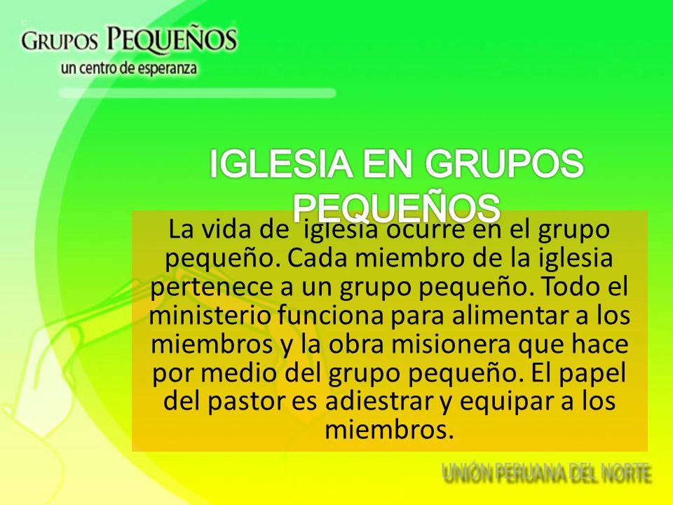 3.La Iglesia en GP 1.La Tradicional 2.La del Programa