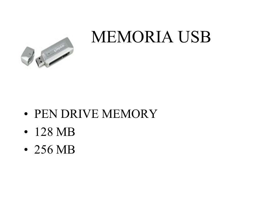 MEMORIA USB PEN DRIVE MEMORY 128 MB 256 MB