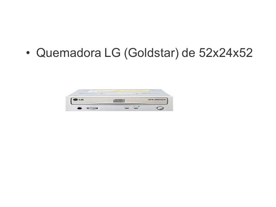 Quemadora LG (Goldstar) de 52x24x52