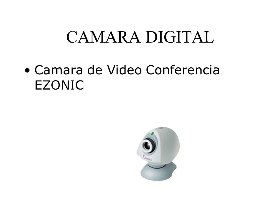 CAMARA DIGITAL Camara de Video Conferencia EZONIC