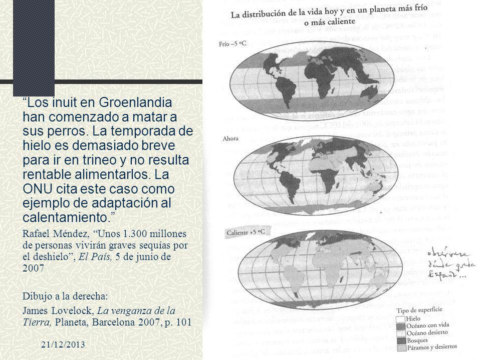 21/12/2013desafío civilizatorio57 Los inuit en Groenlandia han comenzado a matar a sus perros. La temporada de hielo es demasiado breve para ir en tri