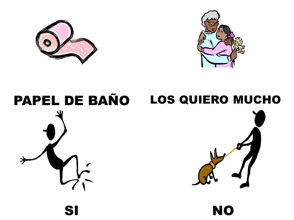 PAPEL DE BAÑO NOSI LOS QUIERO MUCHO