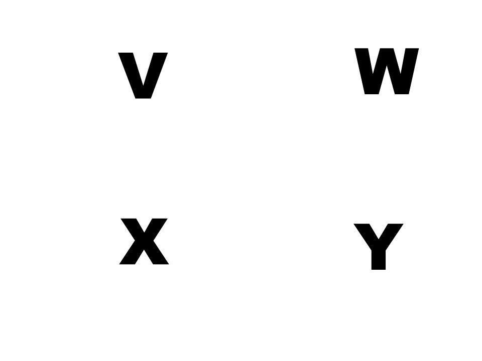 V W X Y