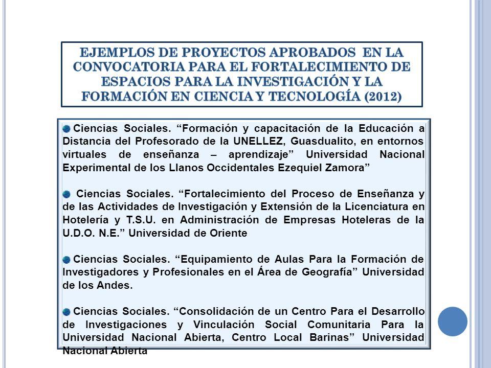 Ciencias Sociales. Formación y capacitación de la Educación a Distancia del Profesorado de la UNELLEZ, Guasdualito, en entornos virtuales de enseñanza