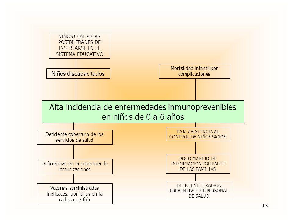 Consecuencias Problema Causas EL ÁRBOL DEL PROBLEMA 12