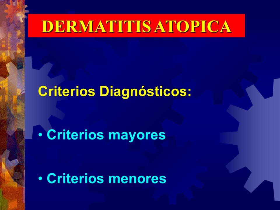 INMUNOPATOLOGIA Se encuentran incrementadas las células de Langerhans en la dermis y la epidermis.