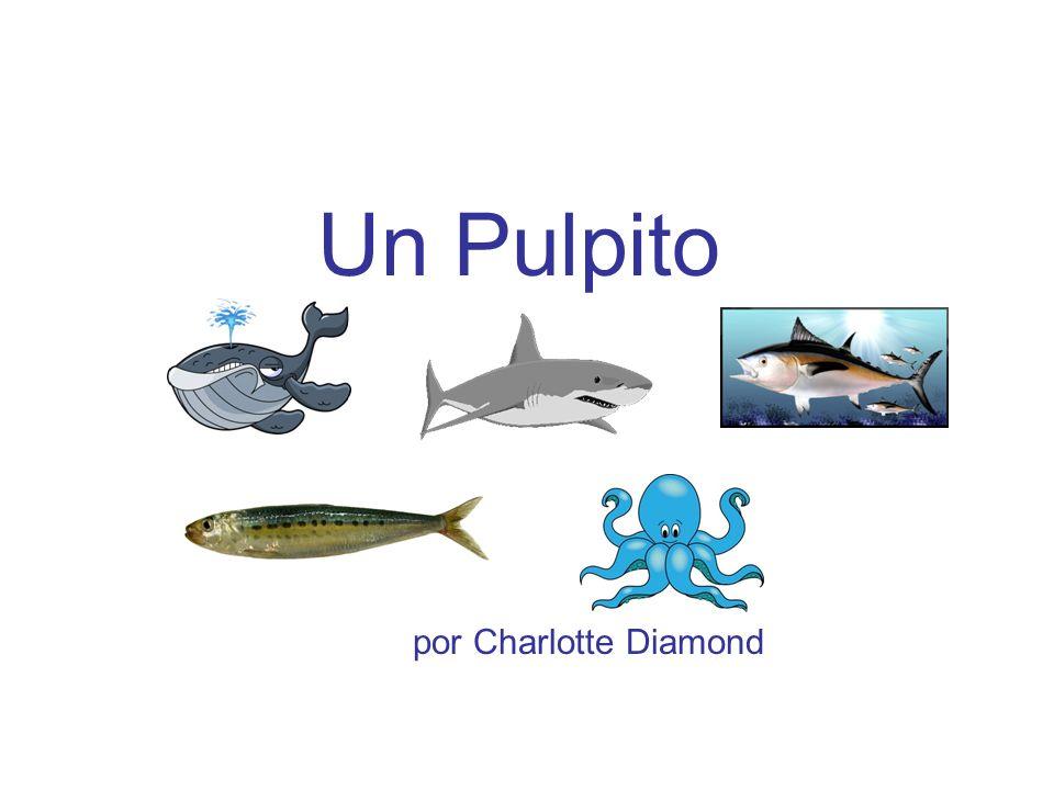 Una sardina, una sardina, nadando en el agua,
