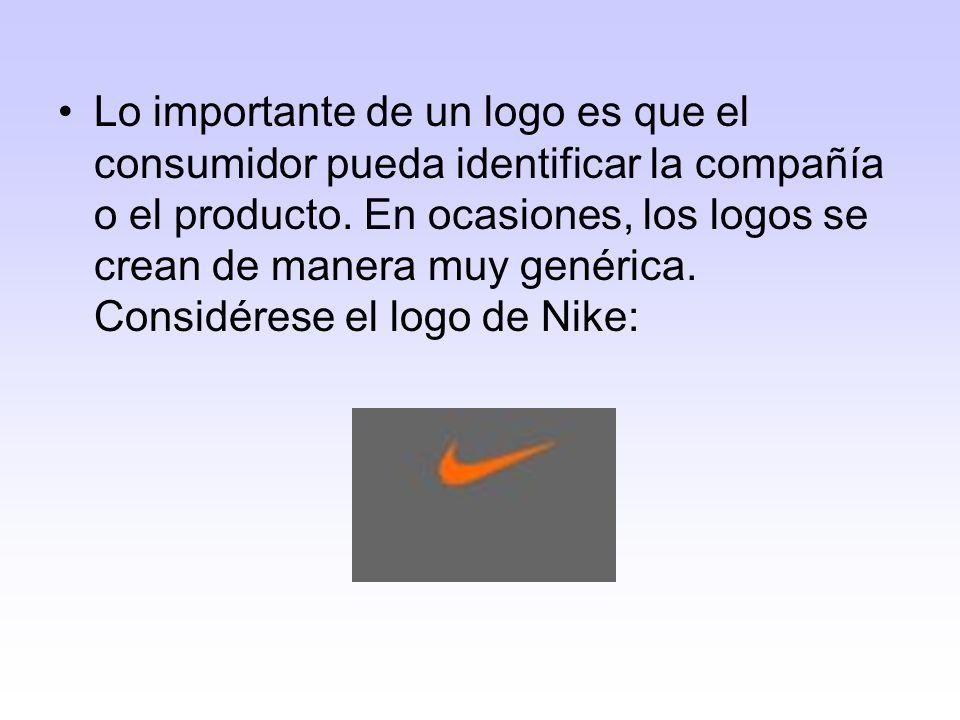 Consideraciones al diseñar un logo Usa líneas: