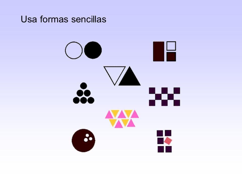Combina líneas y formas