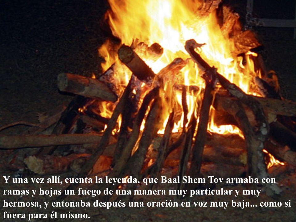 Baal Shem Tov se reunía con ellos una vez por año, en un día especial que él elegía. Y los llevaba a todos juntos a un lugar único, que él conocía, en
