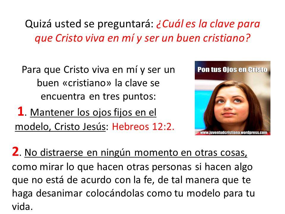 El cristiano tiene solamente dos opciones: o se ocupa de la carne o del Espíritu, pero no puede ocuparse de ambos Rom.8:6.
