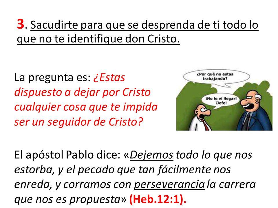 ¿Qué hacía el apóstol Pablo con sigo mismo.1 Cor.9:27.
