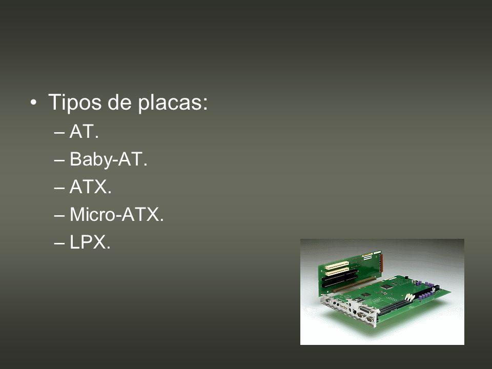 Chipset: –Circuito integrado auxiliar.–El procesador delega tareas en ellos.