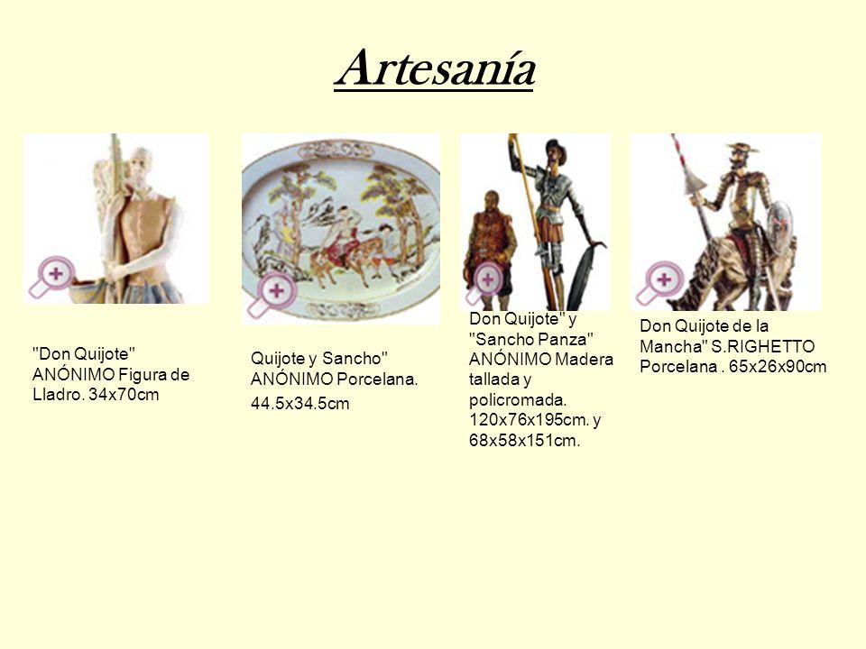Artesanía Quijote y Sancho