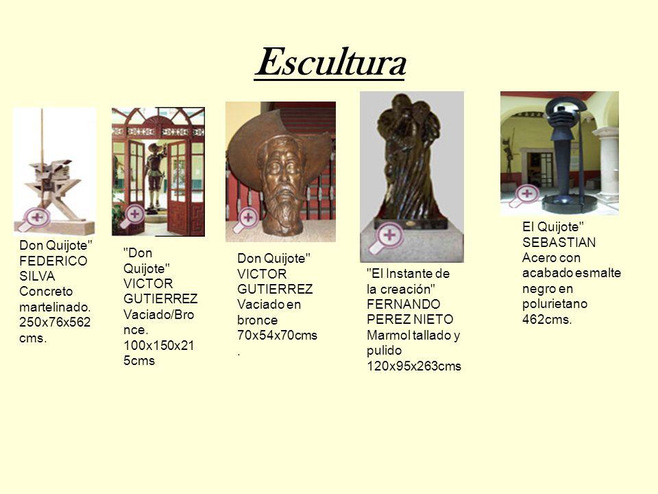 Escultura El Quijote