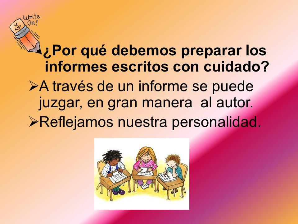 Como presentar un informe escrito Administración Educativa I Sociología de la Educación