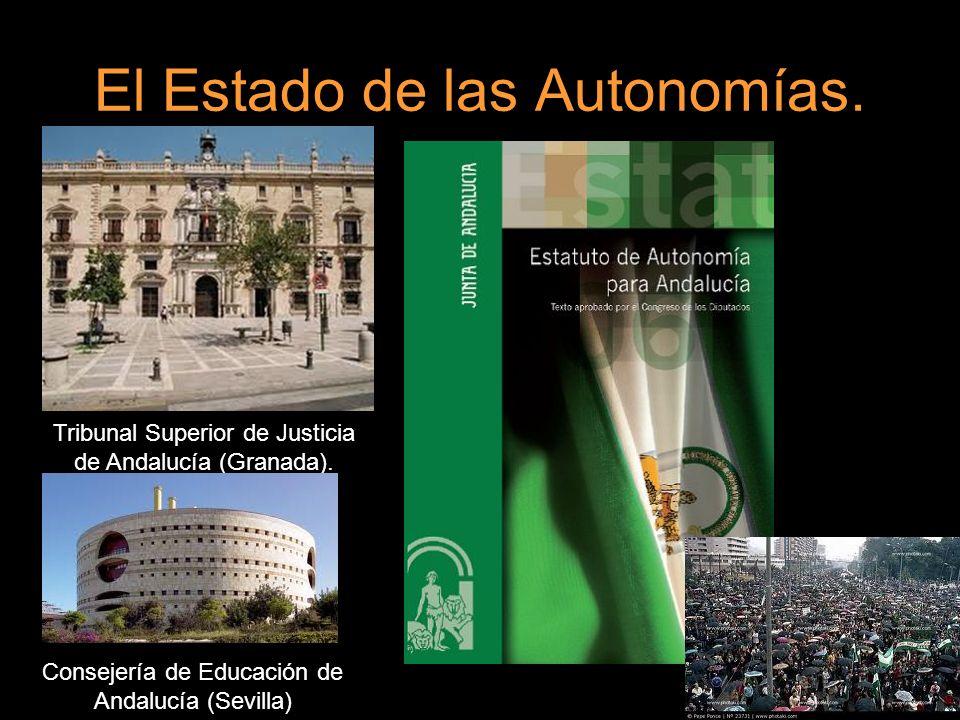El Estado de las Autonomías. Tribunal Superior de Justicia de Andalucía (Granada). Consejería de Educación de Andalucía (Sevilla)
