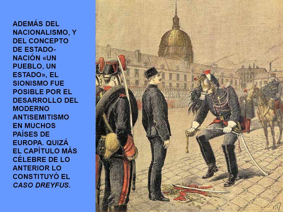 HUBO INFINIDAD DE PROPUESTAS PARA EL ESTABLECIMIENTO DE UN ESTADO JUDÍO: ARGENTINA, KENIA, ENTRE OTROS.