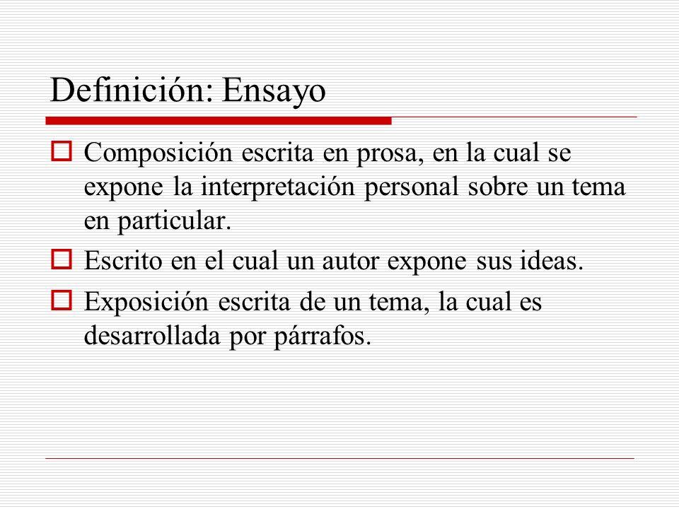 Criterios generales para evaluar su ensayo Al evaluar su ensayo, tenga presente lo siguiente: Vocabulario – verifique el uso de un vocabulario adecuado y pertinente al tema presentado.