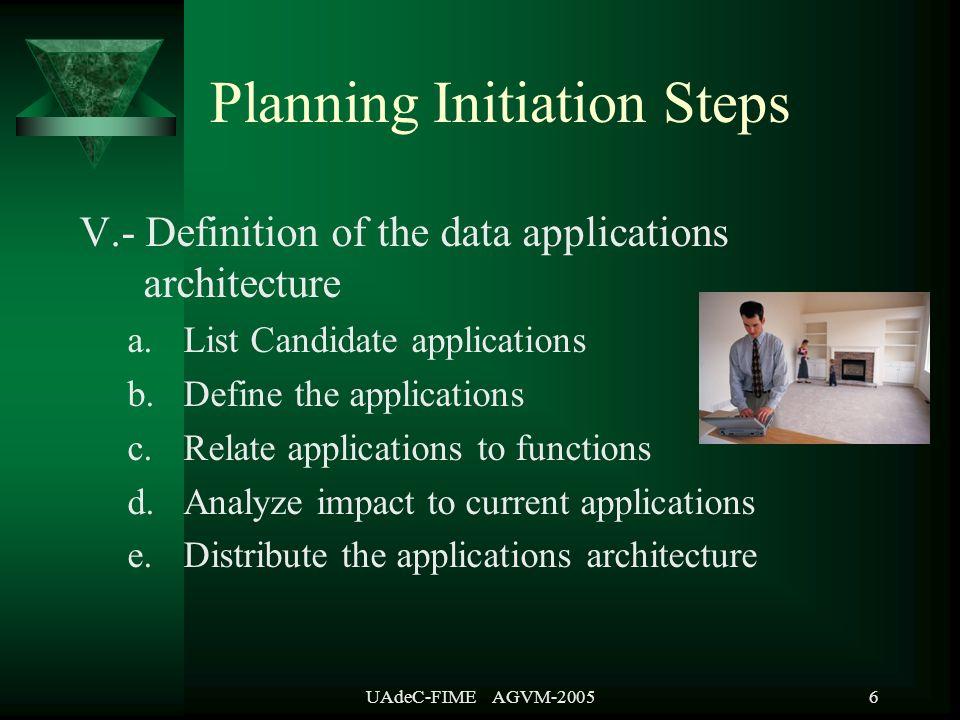 UAdeC-FIME AGVM-200527 Preparar el Plan de Trabajo Es el programa y planeación de todas las actividades del proyecto.