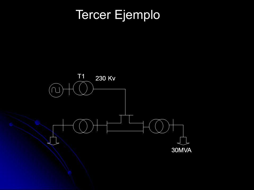 T1 230 Kv 30MVA Tercer Ejemplo