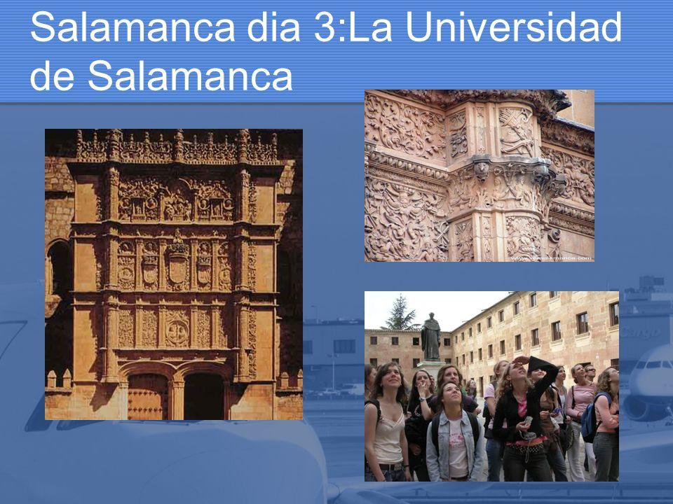 Salamanca dia 3:La Universidad de Salamanca