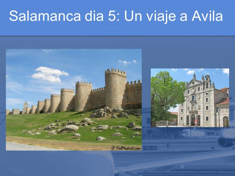 Salamanca dia 5: Un viaje a Avila