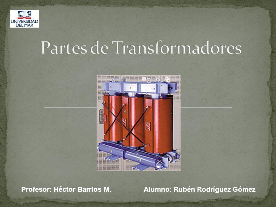Profesor: Héctor Barrios M. Alumno: Rubén Rodríguez Gómez