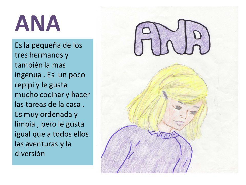 JORGINA Es la prima de Julián, Ana y Dick.