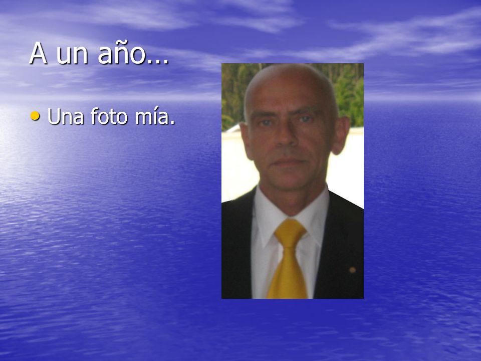 A un año… Mi nombre es José Miguel Casanueva Werlinger.