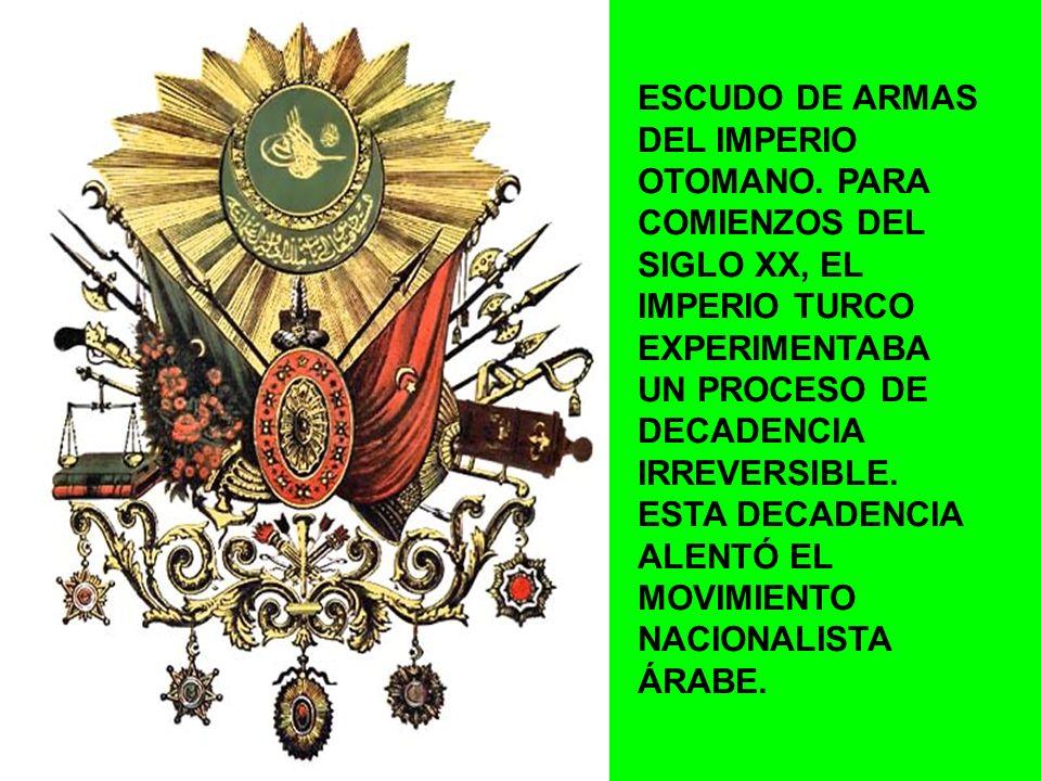 MAPA DE IMPERIO OTOMANO PARA FINALES DEL SIGLO XIX.