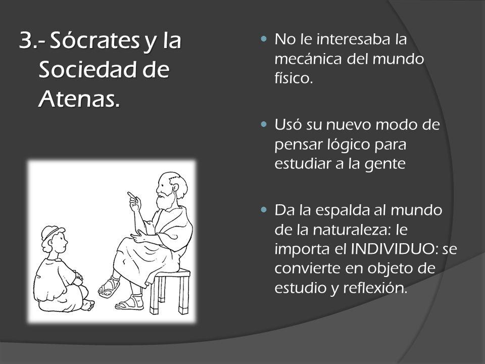Sócrates es el primer individuo FANÁTICO: Ciudad- Polis.