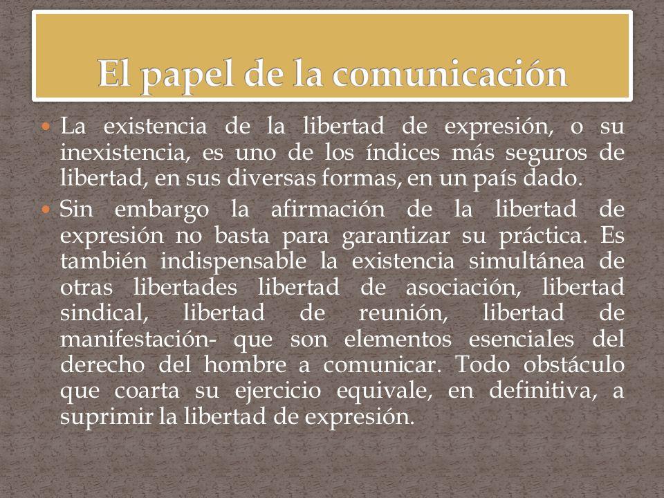 El concepto de libertad es el centro mismo de todos los debates políticos en el mundo moderno y alimenta las innumerables controversias relativas a las políticas y a las decisiones.