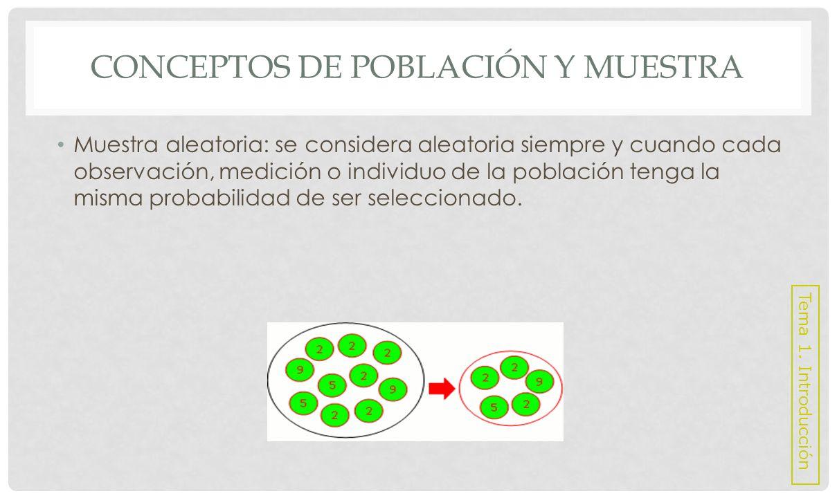 TIPOS DE DATOS Y ESCALAS DE MEDIDA Variables: son las características o lo que se estudia de cada individuo de la muestra.