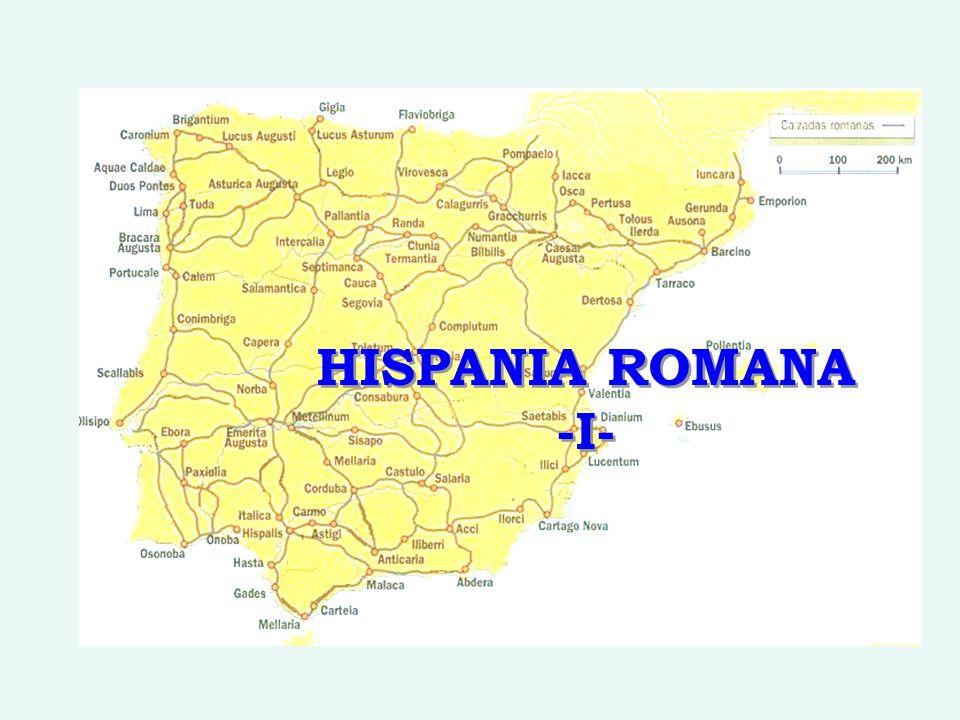 HISPANIA ROMANA -I-