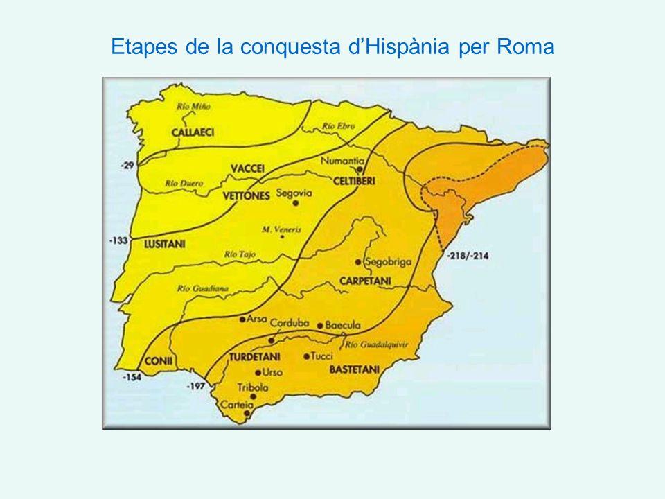 Etapes de la conquesta dHispània per Roma