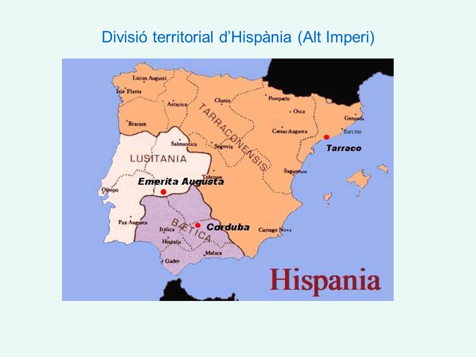 Hispània en el Baix Imperi