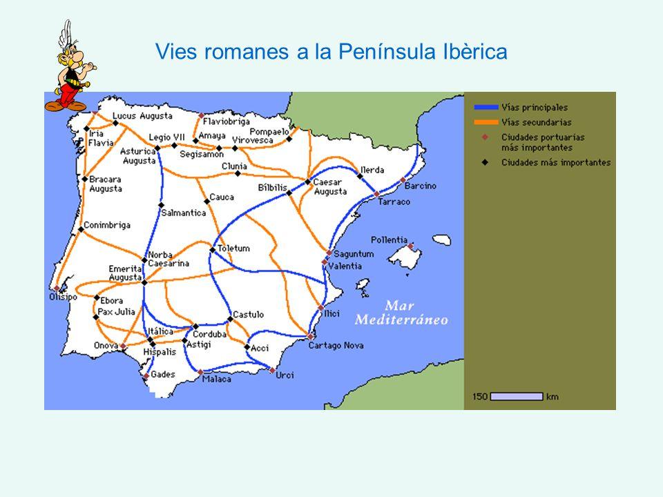 Vies romanes a la Península Ibèrica