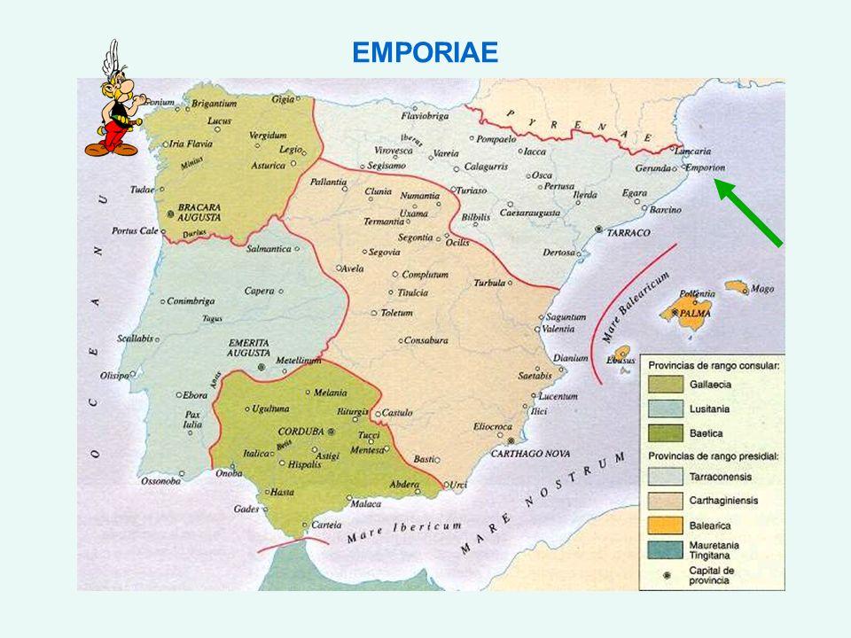 L any 218 aC, amb motiu de la Segona Guerra Púnica, un exèrcit romà comandat per Cneu Corneli Escipió desembarcà al port d Empúries amb l objectiu de tancar el pas per terra a les tropes cartagineses.