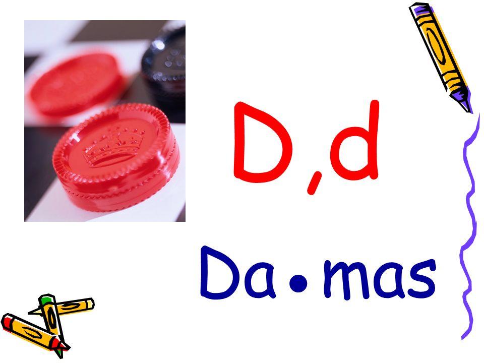 D,d Damas