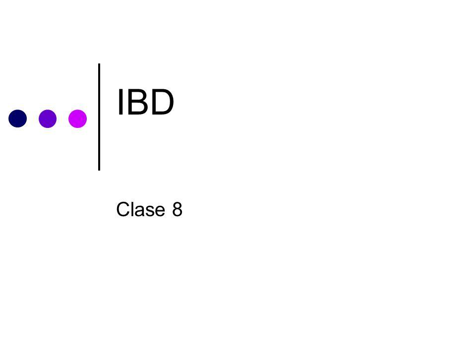 IBD Clase 8