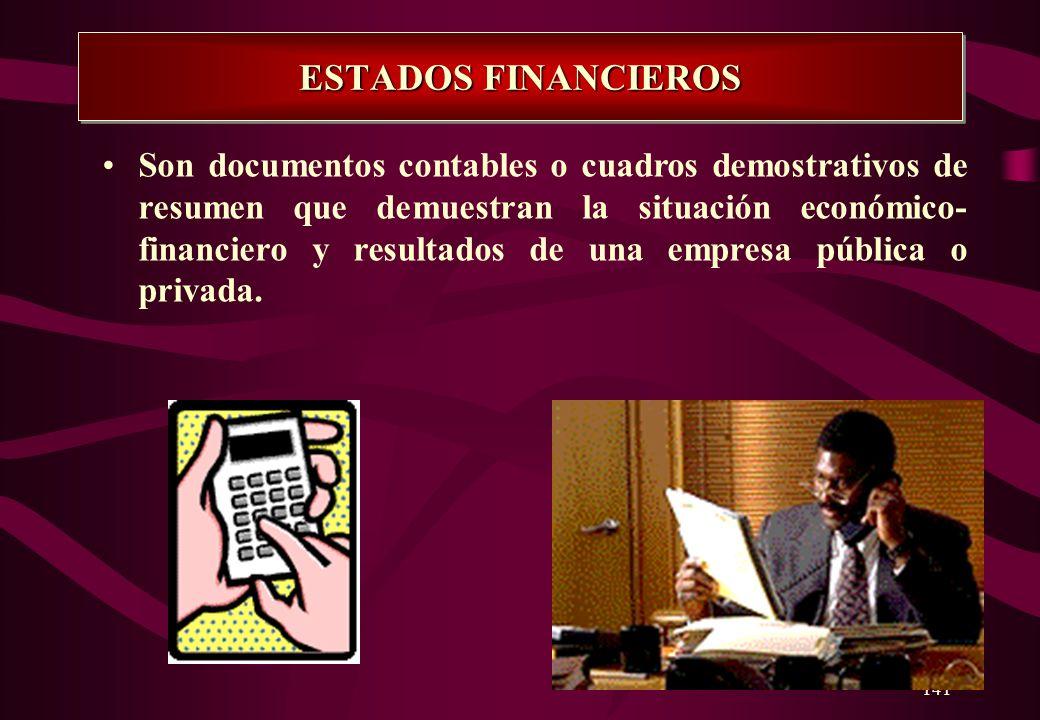 140 EL BALANCE DE COMPROBACION La información procesada en el libro MAYOR se traslada a una Hoja de Trabajo de BALANCE DE COMPROBACION con el propósit